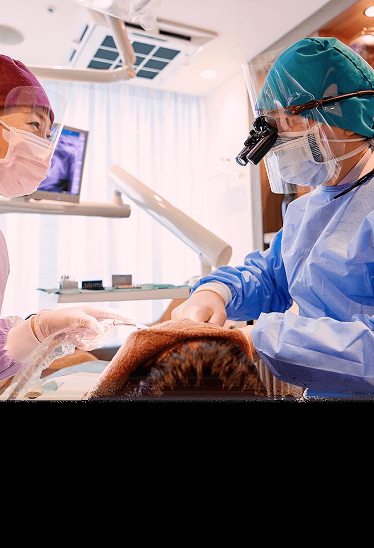 自分の歯を残す歯科治療、金属を使わない審美歯科。保険外診療 メタルフリー17年